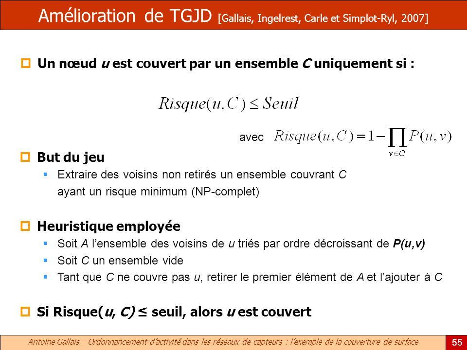 Amélioration de TGJD [Gallais, Ingelrest, Carle et Simplot-Ryl, 2007]